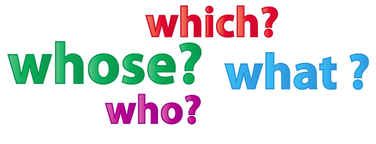 Pronouns : Interrogative Pronouns