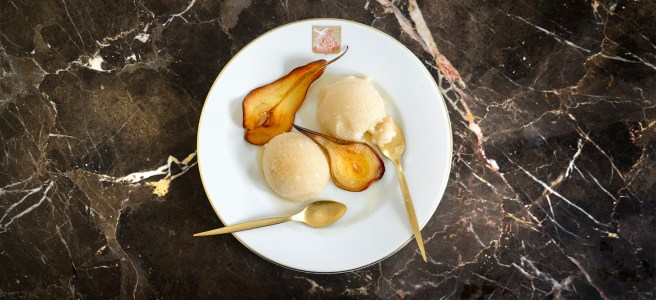 Store Cupboard Recipes Pear Drop Sorbet With Guitars
