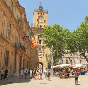 aix en provence city center