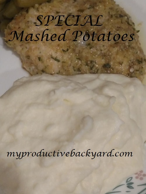 Special Mashed Potatoes