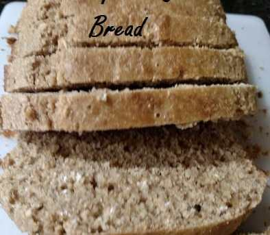 Whole Wheat Quick Bread