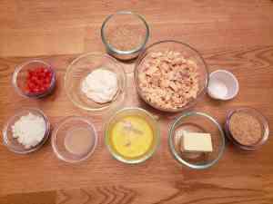 Ingredients for Gluten Free Salmon Cakes