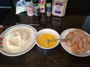 coating chicken