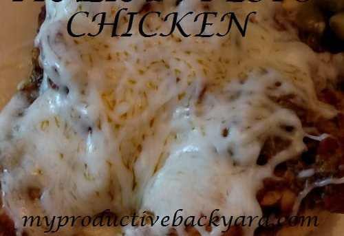 Crock Pot Italian Pesto Chicken