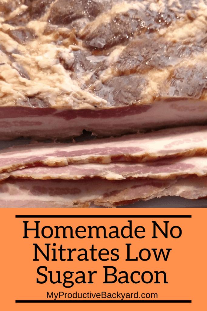 Homemade No Nitrates Low Sugar Bacon