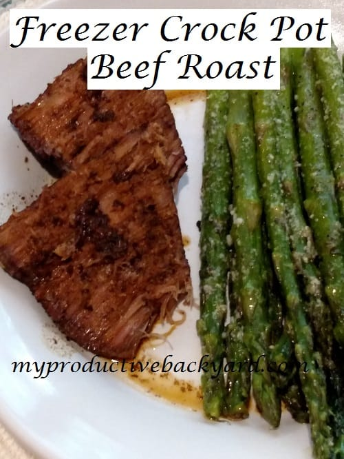 Freezer Crock Pot Beef Roast
