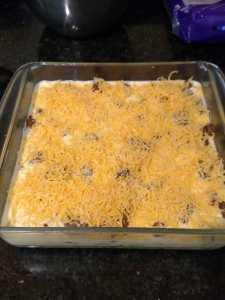 Low Carb Taco Pie