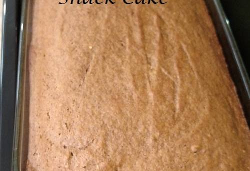 Simple Pumpkin Snack Cake