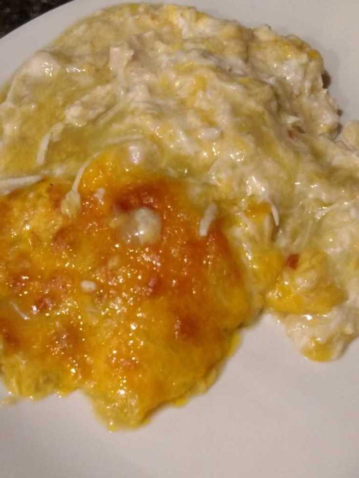 Chicken Echilada Casserole