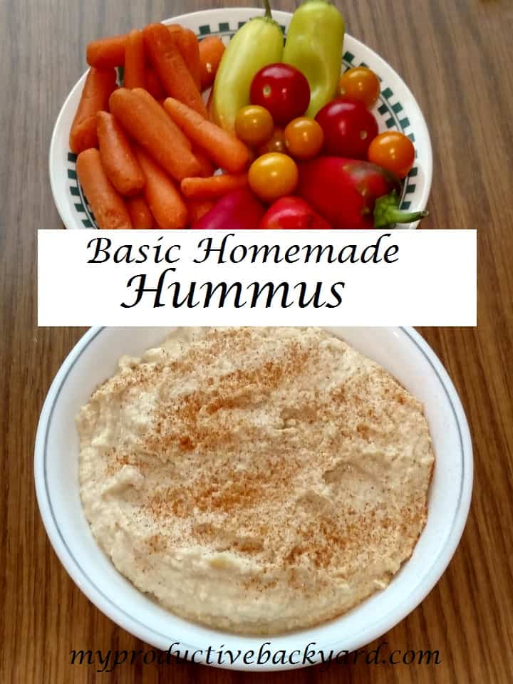 Basic Homemade Hummus