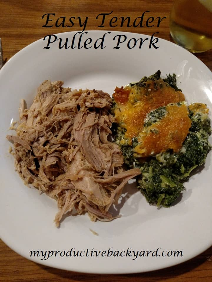 Easy Tender Pulled Pork