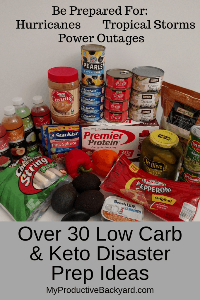 Over 30 Keto Low Carb Disaster Prep Ideas