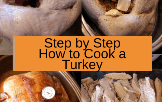Step by Step How to Cook a Turkey collage