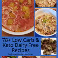 78 Dairy Free Low Carb Keto Recipes