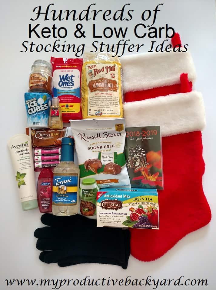 Hundreds of Keto Low Carb Stocking Stuffer Ideas