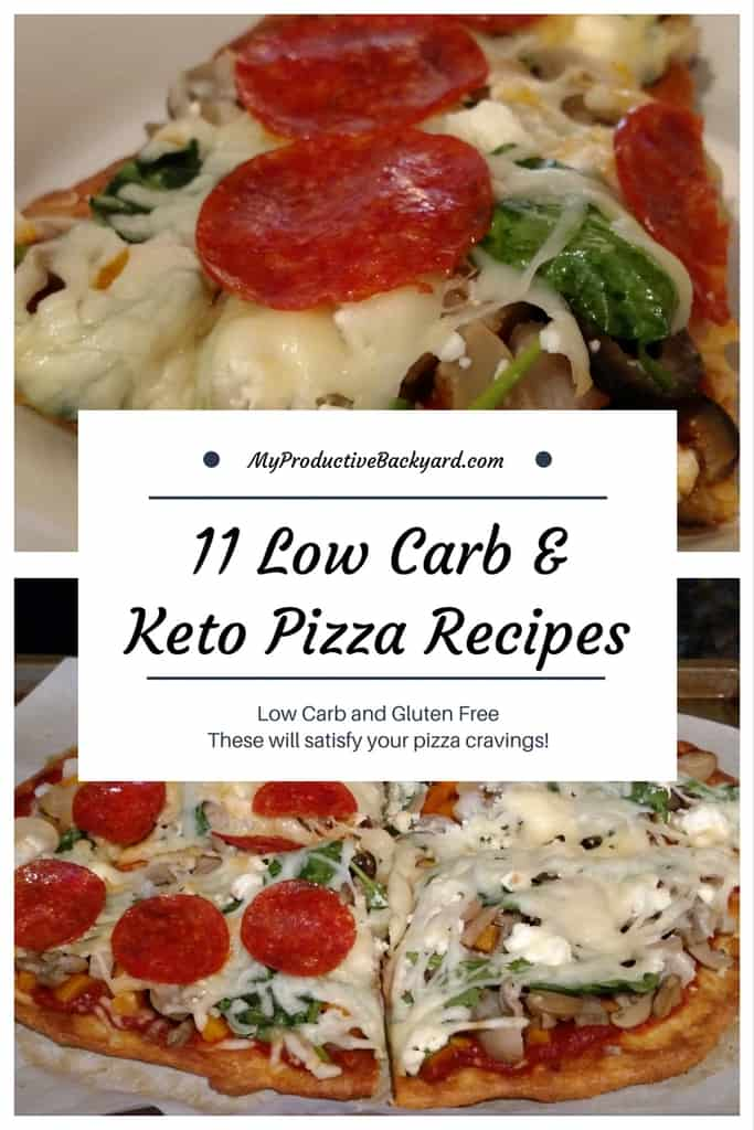11 Low Carb Keto Pizza Recipes - My Productive Backyard