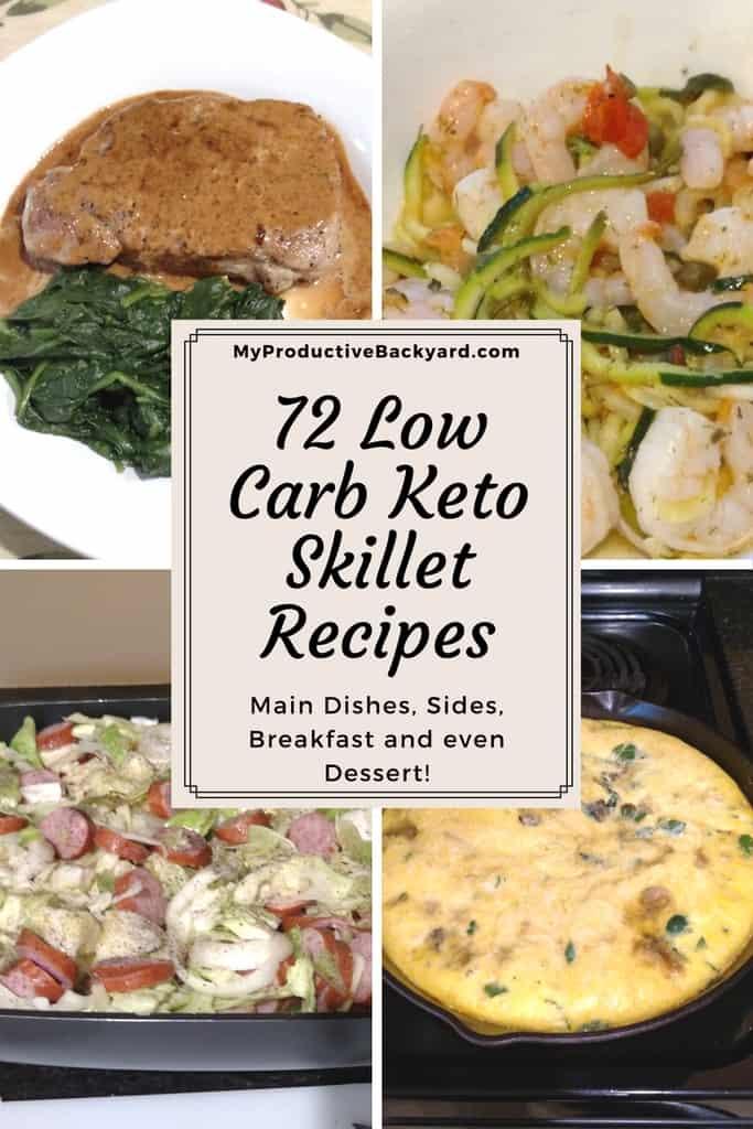 72 Low Carb Keto Skillet Recipes