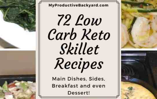 72 Low Carb Keto Skillet Recipes