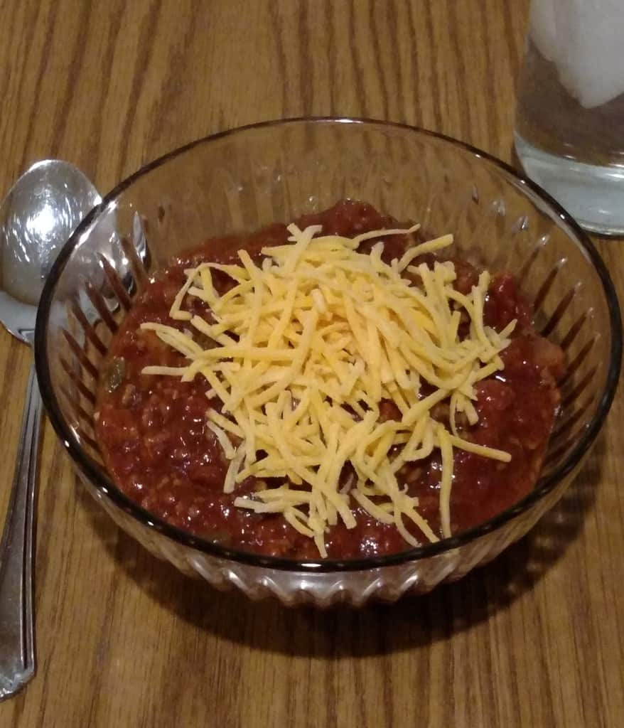 Low Carb Crock Pot Chili