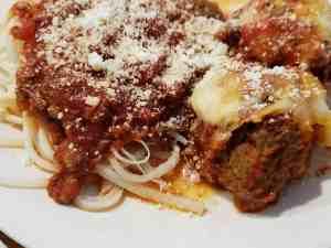 Low Carb Parmesan Meatballs