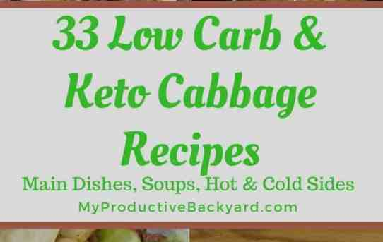 33 Low Carb Keto Cabbage Recipes