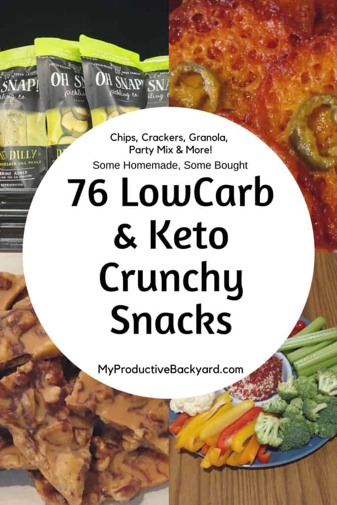 76 Low Carb Keto Crunchy Snacks