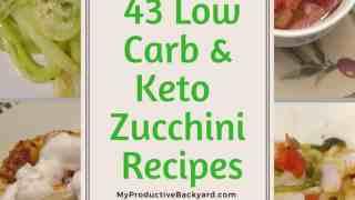 43 Low Carb Keto Zucchini Recipes