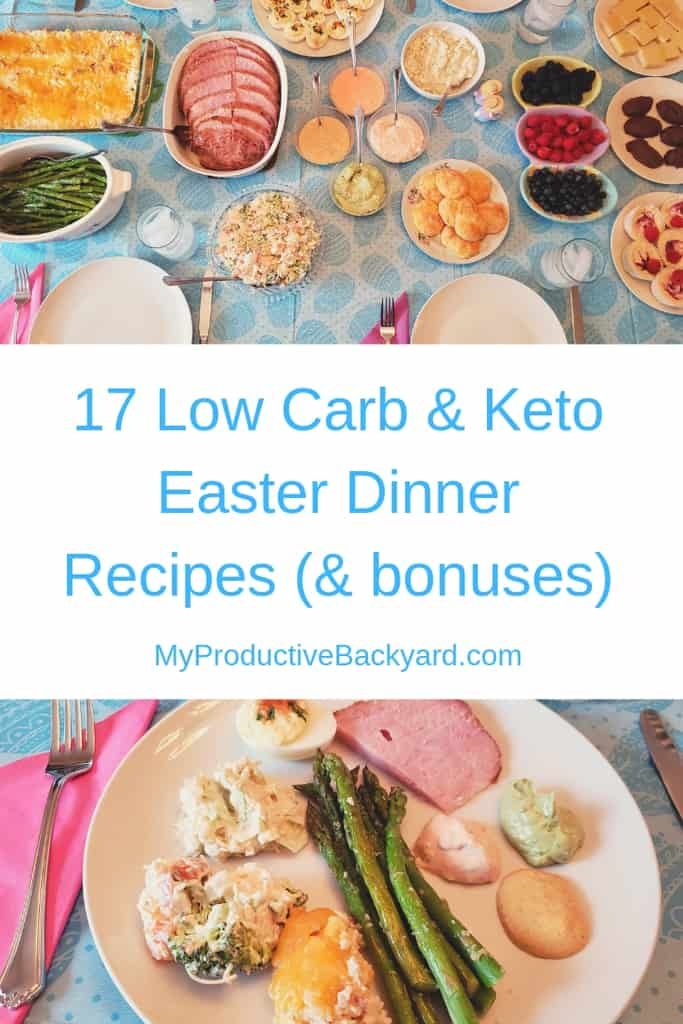 Remarkable 17 Low Carb Keto Easter Dinner Recipes My Productive Backyard Interior Design Ideas Lukepblogthenellocom