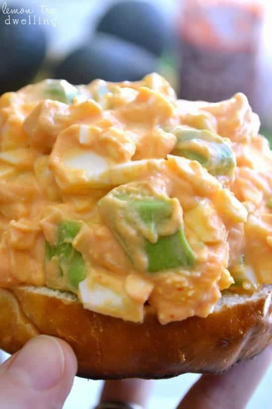 {Skinny} Sriracha Egg Salad