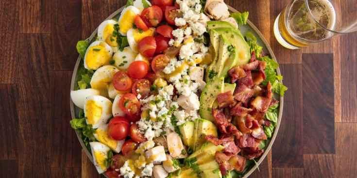 Best Cobb Salad Recipe - How to Make Cobb Salad