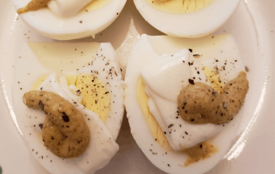 Lazy Deviled Eggs