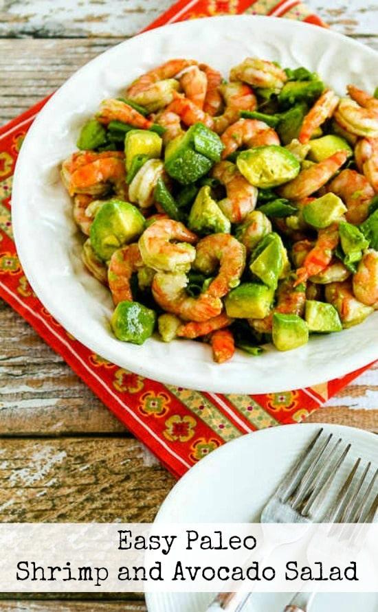 Easy Shrimp and Avocado Salad