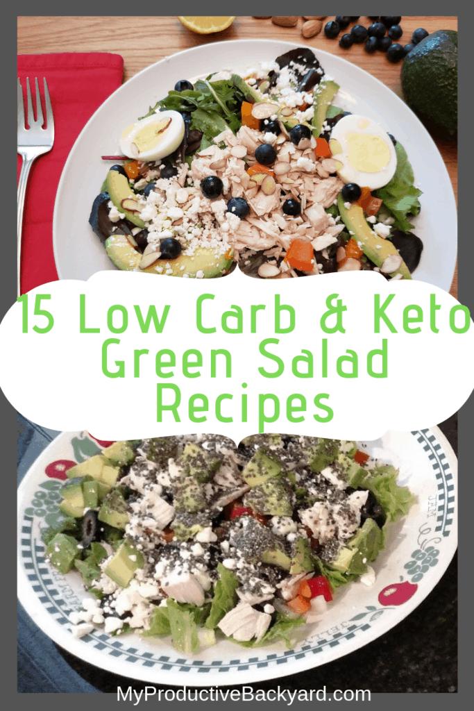15 Low Carb Keto Green Salad Recipes