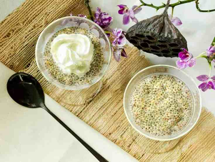 Cinnamon Almond Horchata Chia Seed Pudding