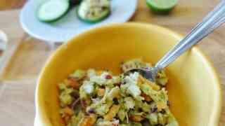 Quick and Easy Avocado Chicken Salad