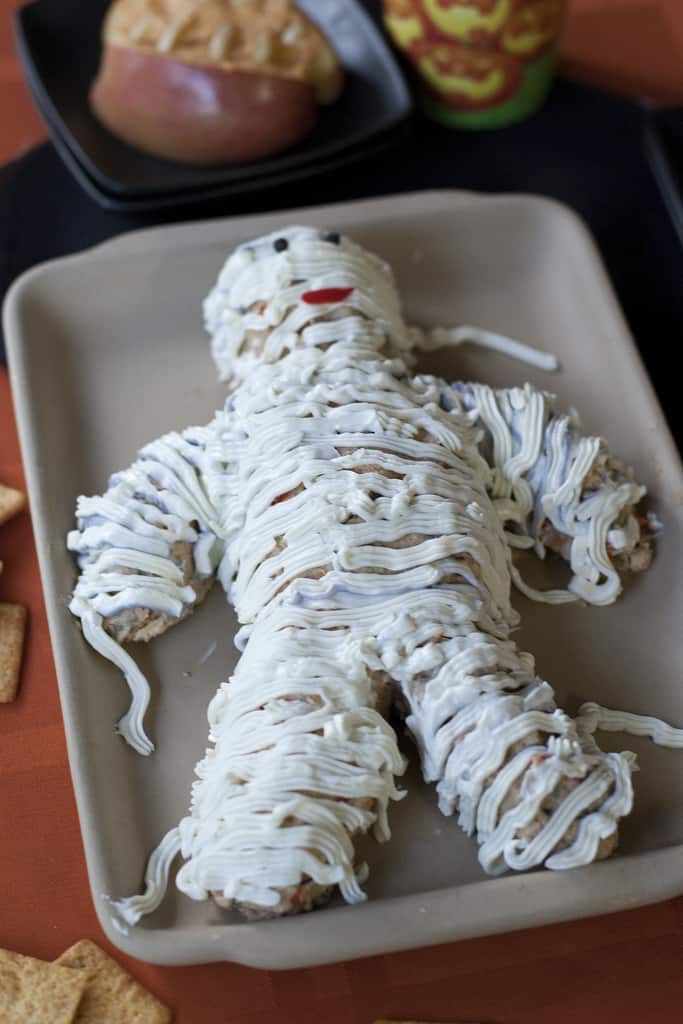 Cheese Mummy: The Best Halloween Party Recipe