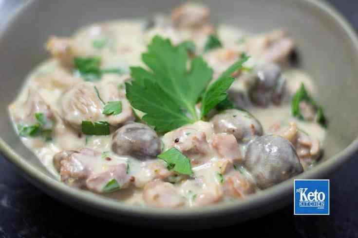 "Keto Turkey Stew Recipe – ""Creamy & Hearty"" – Slow Cooker or Saucepan"