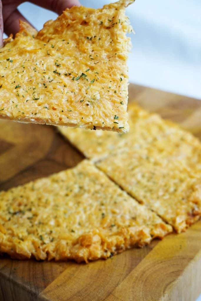 The Original Zero Carb Pizza Crust (Video)