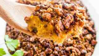 Healthy Low Carb Sweet Potato Casserole Recipe - Sugar Free