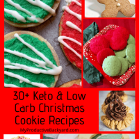 30+ Keto Low Carb Christmas Cookie Recipes
