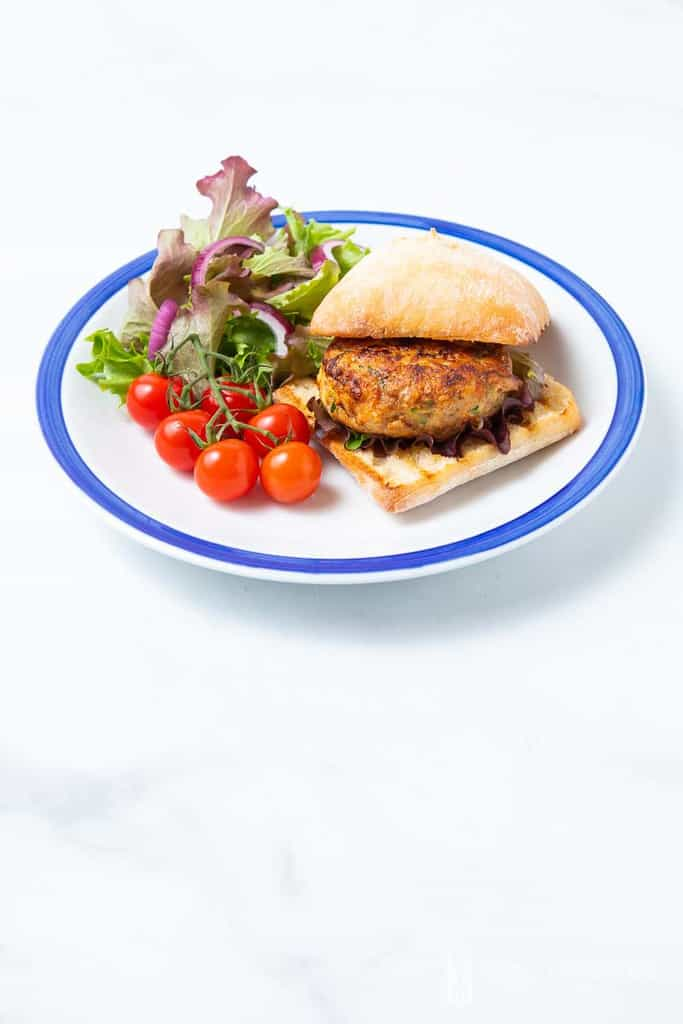 Chicken Rissoles - these chicken patties are healthy and easy to prepare!