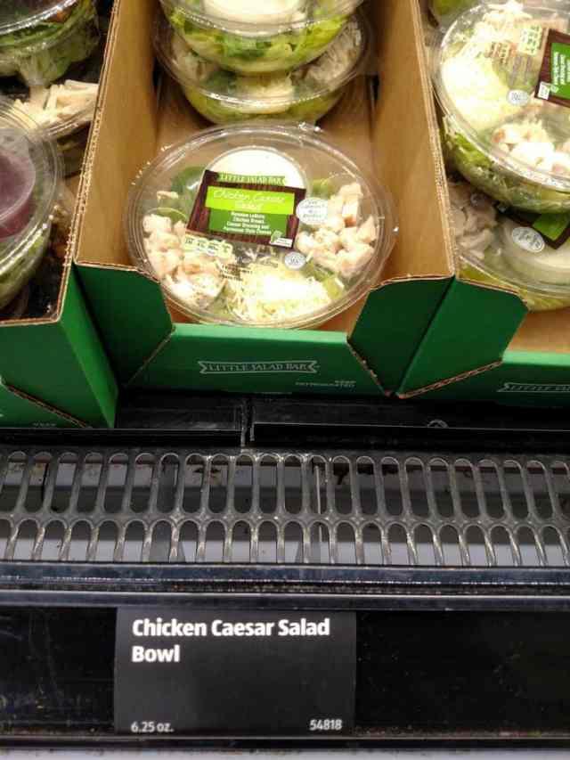Chicken Caesar Salad Bowl in store