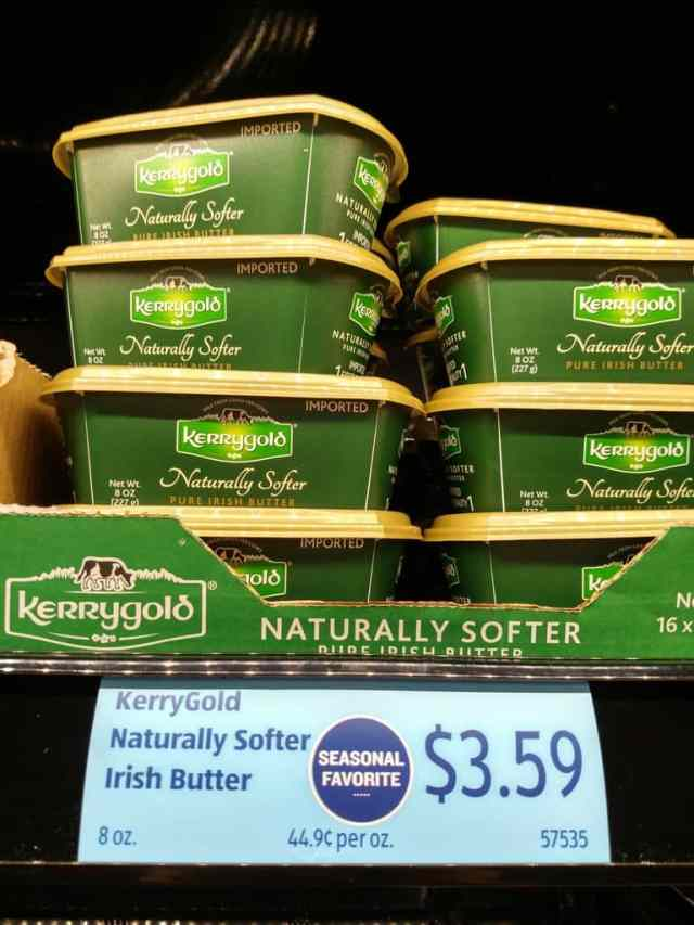Kerrygold Butter in store