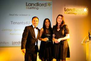 Online Letting Agents Voted 2012/13 Letting Agent of the year
