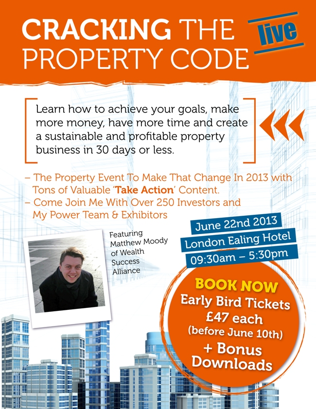 Cracking the Property Code Live!