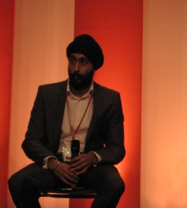 Peter Singh speaking at The PPSC in February this year