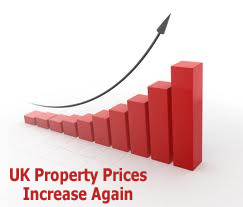 UK Property Prices Continue To Rise