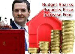 Budget Sparks Property Price Increase Fear