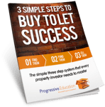 The 3 Simple Steps To Buy To Let Success Guide Book