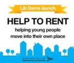 Liberal Democrats Announce Help To Rent Scheme